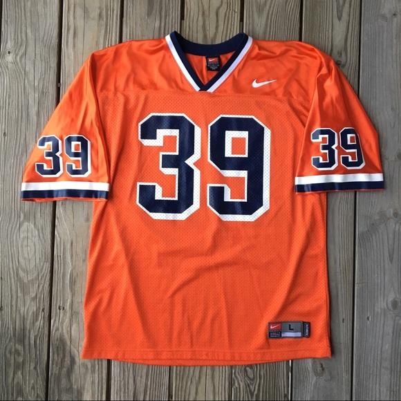 reputable site 5ca03 2768f Nike Syracuse Orange Larry Csonka Football Jersey